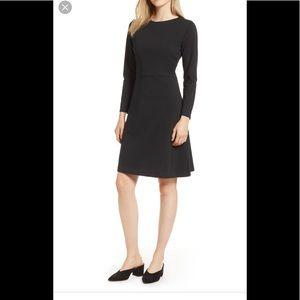J Crew 365 Knit Fit N' Flare Black Dress Sz 2X